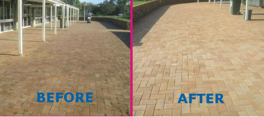 brisbane high pressure cleaning