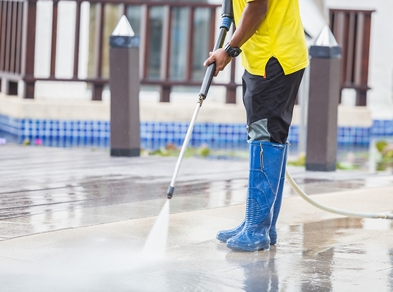 Commercial Building And Carpark Cleaning | Brisbane | The House Washer